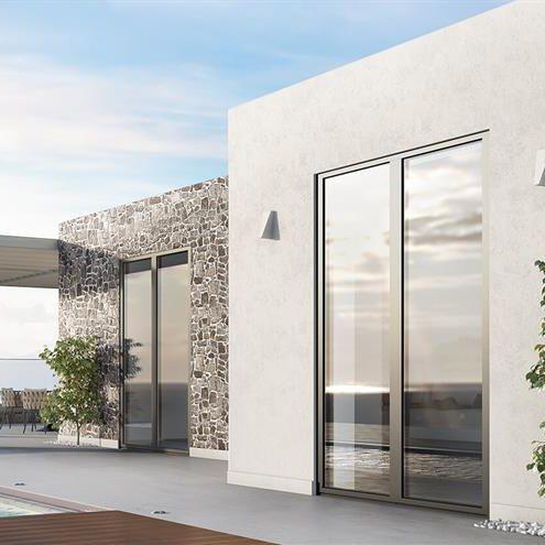 profilato per finestra in alluminio - ALUMIL S.A.