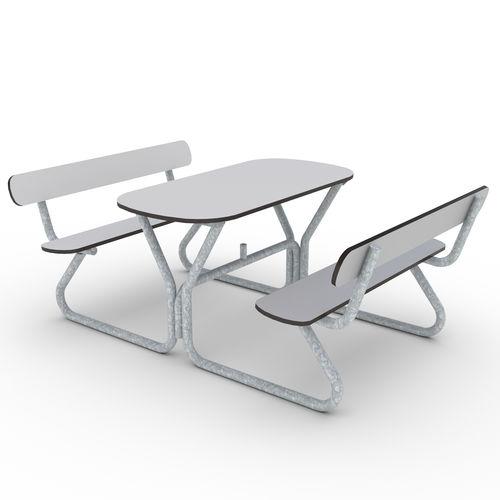 tavolo da picnic moderno
