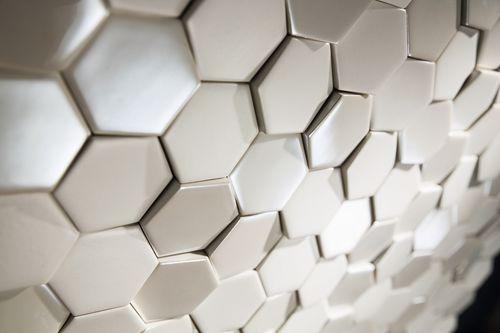 mosaico da interno / da parete / in ceramica / motivo geometrico