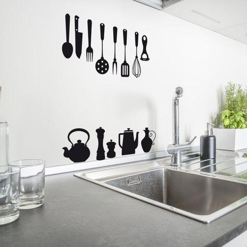 adesivo da parete cucina / in vinile