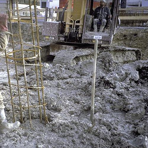 calcestruzzo autocompattante / di sicurezza / per fondazione / per edifici