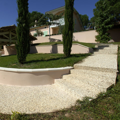 cemento per pavimento esterno / per facciata / per esterni