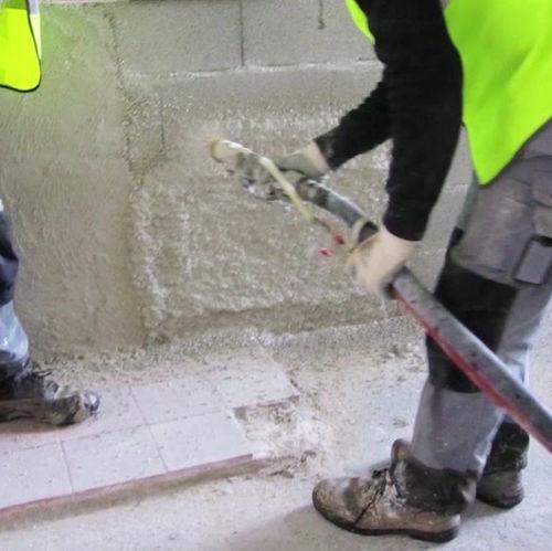 cemento per facciata