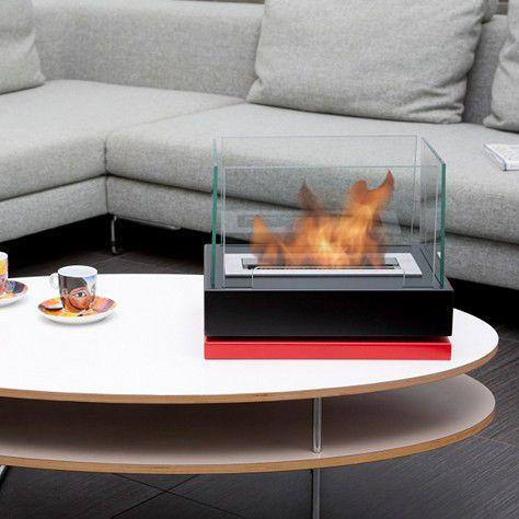 bruciatore a bioetanolo rettangolare / moderno / da appoggio