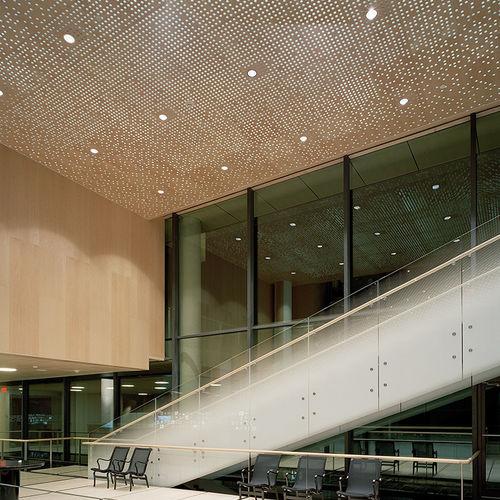 pannello acustico per soffitto / a muro / per interni / in MDF