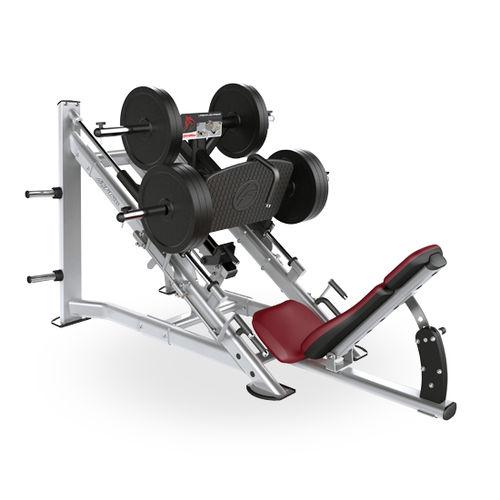 attrezzo per bodybuilding pressa per gambe