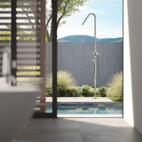 doccia da esterno in acciaio inossidabile