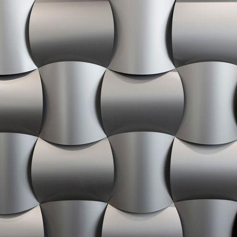 pannello decorativo in alluminio