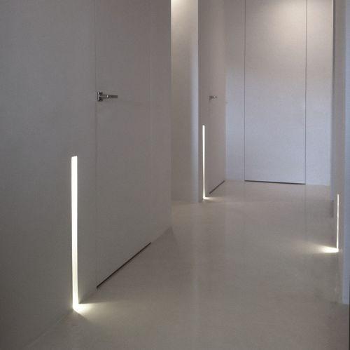 luce da incasso a soffitto / da incasso a muro / LED / lineare