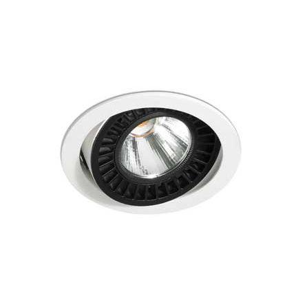 downlight da incasso / LED / tondo / in ghisa di alluminio