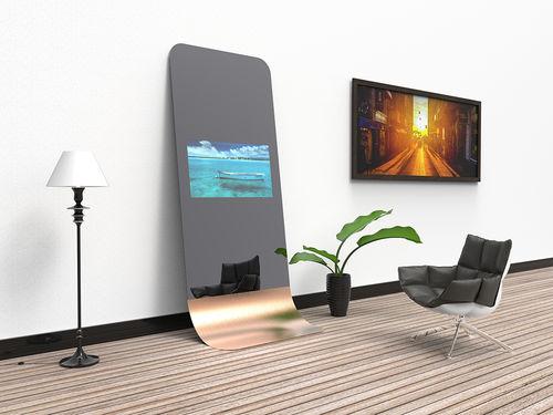 TV a specchio a muro / da terra / 4K / 3D