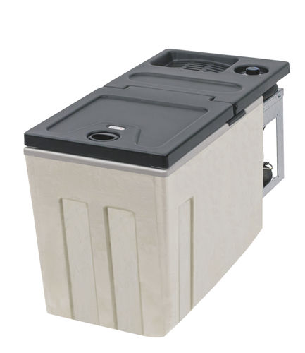 frigorifero professionale / compatto / nero