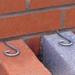 sistema di fissaggio in acciaio inossidabile / per rivestimento di facciata / per esterni