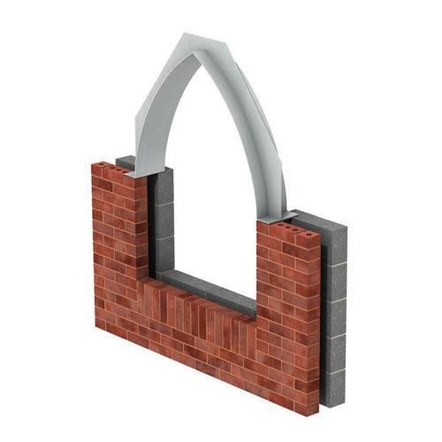 architrave in acciaio inox / portante / di protezione / prefabbricato