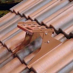 passerella di manutenzione in metallo / per tetti