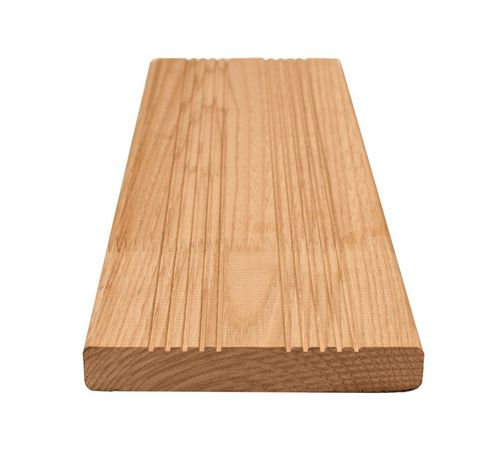 listello per esterni in legno massiccio