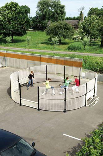 campo da calcio per spazio pubblico