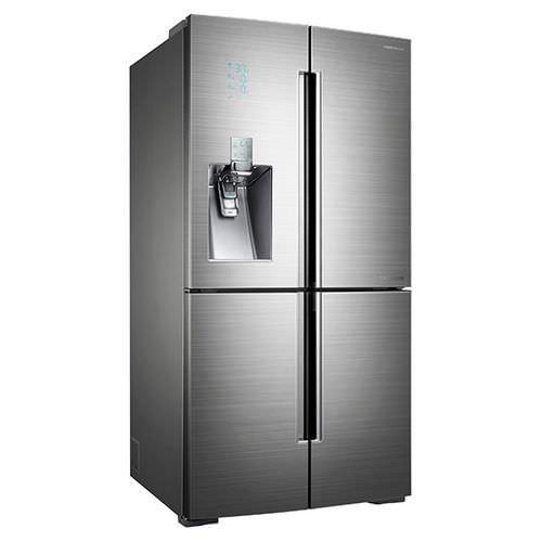 frigorifero per uso residenziale / americano / in acciaio inox