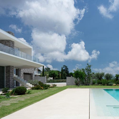 pavimento in ceramica / residenziale / a quadrotte / levigato