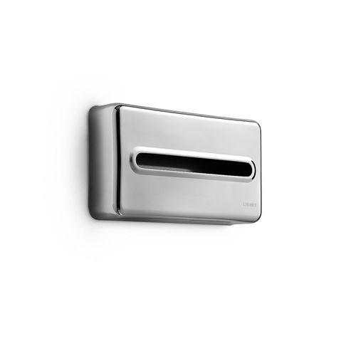 distributore di salviette da parete / in metallo