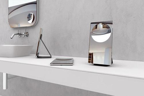 specchio da bagno da appoggio