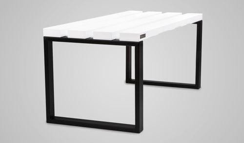 panca per spogliatoio / moderna / in legno / in metallo