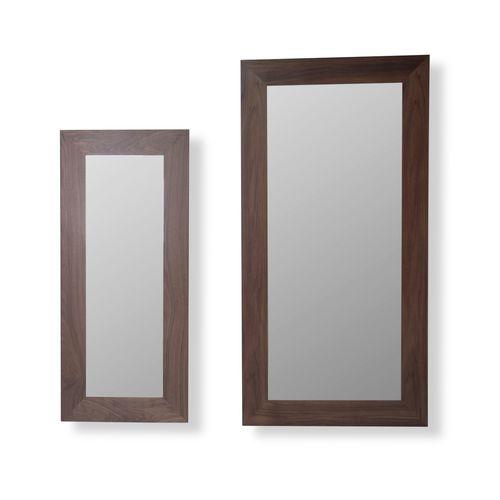 specchio a muro / moderno / quadrato / in MDF