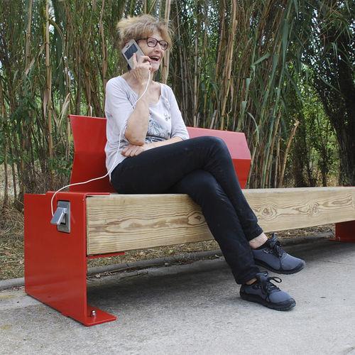 panca per spazi pubblici moderna - FREPAT URBAN EQUIPMENT