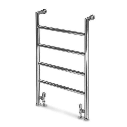 scaldasalviette ad acqua calda / in metallo / moderno / verticale
