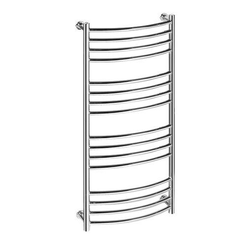 scaldasalviette ad acqua calda / elettrico / in metallo / moderno