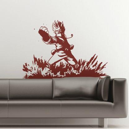 adesivo da parete ornamentale / silhouette / su misura