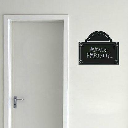 adesivo da parete su misura / per porta