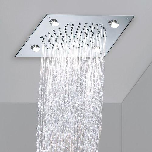 soffione doccia da incasso a soffitto