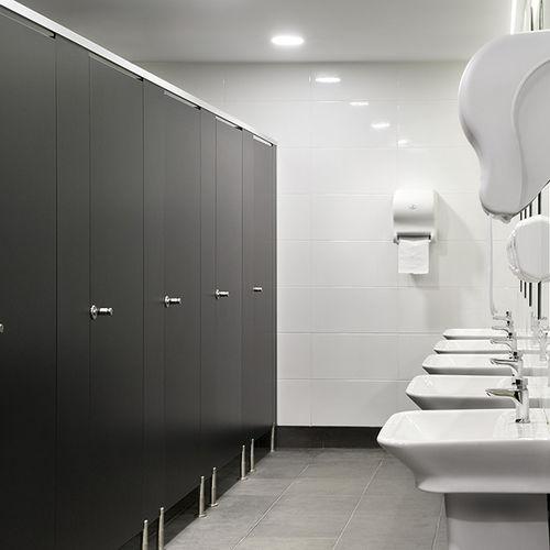 cabina WC in laminato