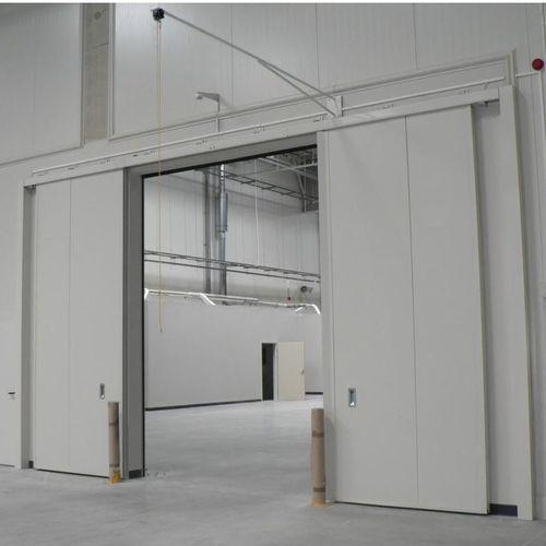 porta industriale scorrevole
