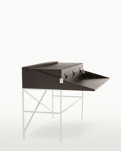 scrivania in rovere