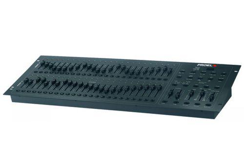 mixer luci DMX 12 canali