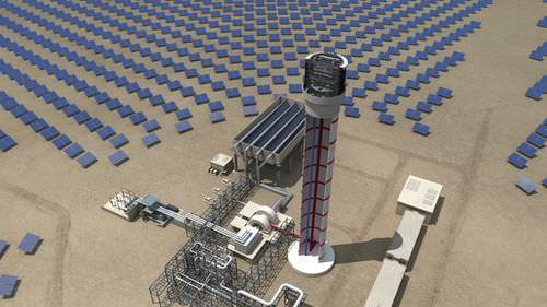 stazione solare per impianto fotovoltaico