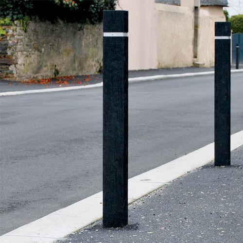 colonna di protezione / in plastica riciclata / fissa / alta