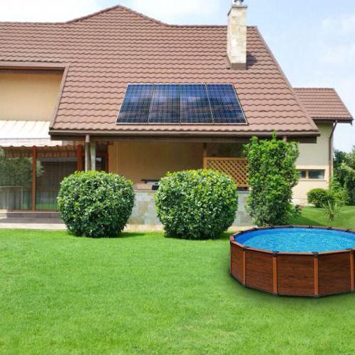pannello solare ibrido policristallino / per riscaldamento / in vetro antiriflesso / PID free