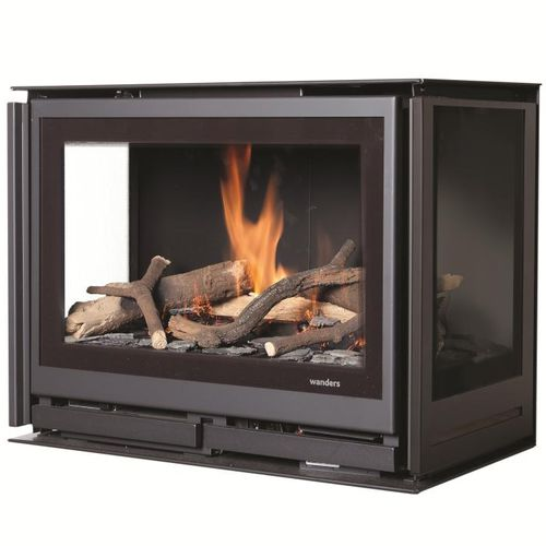 inserto per camini a gas - Wanders fires & stoves
