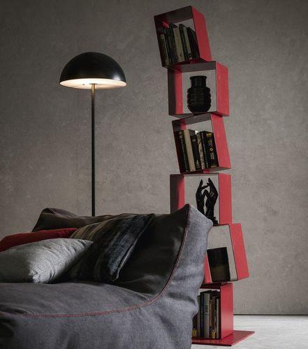 libreria design originale / in metallo laccato