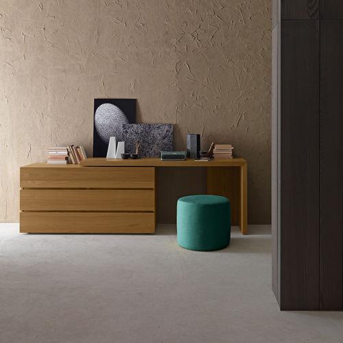 scrittoio moderno / in legno laccato / in legno laccato brillante