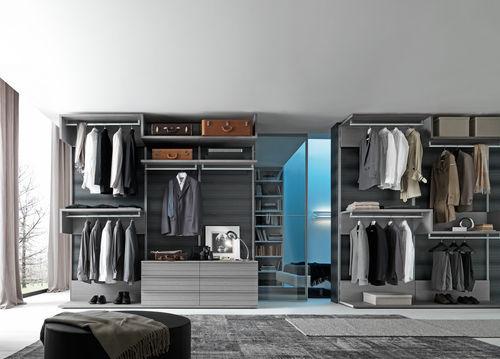 cabina armadio ad angolo / modulare / moderna / in melamminico