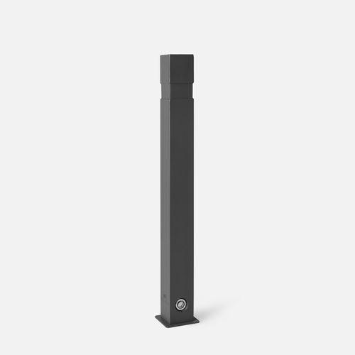 colonna antiparcheggio / in ghisa di alluminio / amovibile / fissa