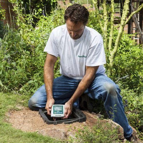 programmatore di irrigazione / a pavimento / a tenuta stagna