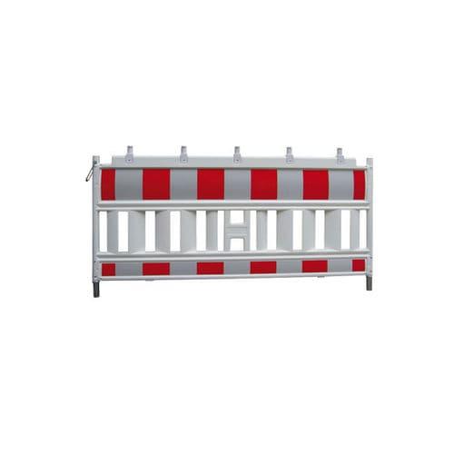 recinzione per cantiere / a pannelli / in plastica