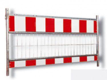 recinzione per cantiere / a sbarre / in acciaio galvanizzato