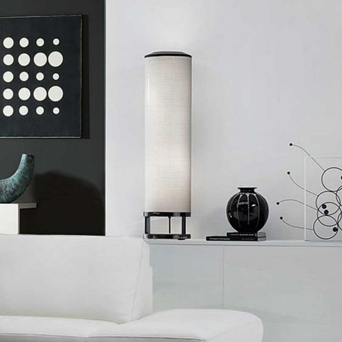 colonna luminosa moderna / in tessuto / LED / da interno
