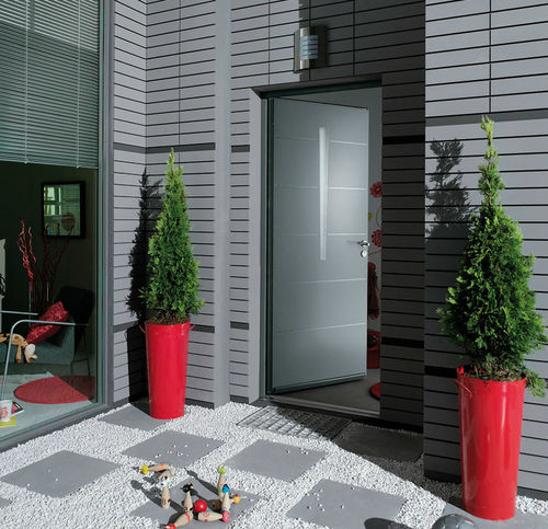 porta d'ingresso / battente / in alluminio